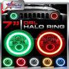 Winkel-Halo Scheinwerfer 7 Zoll RGB-LED für Jeep