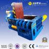 Surtidor hidráulico horizontal de China de la prensa de las balas de la basura del metal de la venta caliente de Y81t-160 Aupu
