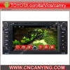 Auto DVD Player voor Pure Android 4.4 Car DVD Player met A9 GPS Bluetooth van cpu Capacitive Touch Screen voor de Bloemkroon van Toyota/Vios/Camry (advertentie-6203)