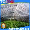 зеленая 60~350GSM связанная HDPE/беж/другая ткань тени цвета