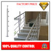 Escalera de acero inoxidable pasamanos con barra de la escalera o balcón (JBD-B002)