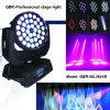 Gbr LED bewegliches Hauptwäsche-Licht, bewegliches Hauptlicht mit lautem Summen