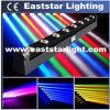 8X10W LED Beam Moving Head RGBW Bar Light