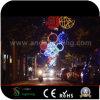 LED de exterior decorações de Natal motivos para as luzes de cruzamento de ruas