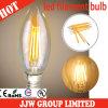 4W Sharp Candle Light DEL Filament Bulb pour Desk Lamps (SC35M4-3.5-E14S)