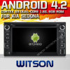 KIA Sedona (W2-A7517)のためのWitson Android 4.2 System Car DVD