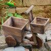 IndoorおよびOutdoorのための木製のCar Cute Flower Planter