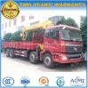 Auman 8X4 화물 트럭은 기중기 14 톤으로 거치했다