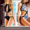 Сексуальное Fashion Halter One Piece Cut вне Monokini Swimwear Suit