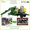 Dura寸断しなさい機械(移動式プラント)をリサイクルする競争の使用されたタイヤを