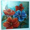 Peinture à l'huile décorative à grande fleur colorée moderne de haute qualité pour salle de séjour (LH-700540)