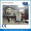 Maquinaria automática de alta pressão controlada da espuma do plutônio do PLC para coxins de assento do carro