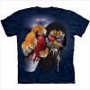 Manier Afgedrukte T-shirt voor Mensen (M256)