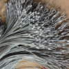 La sécurité de la corde de fils en acier galvanisé avec oeil flamand