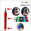 Dry Herb Vaporizer Tobacco Vapor Pipes를 위한 2014 가장 새로운 Deluxe V5 E-Cigarette