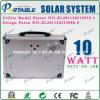 10W携帯用Solar Energyシステム発電機(PETC-FD-10W)