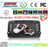DJ7063 Touch Screen 2 DIN 7inch Car DVD Player voor Mercedes Benz W209