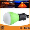 3개의 LED 전구 야영 손전등이 야영 램프 거는 천막에 의하여 점화한다