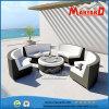 高品質アルミニウムフレームのPEの藤の屋外のテラスの家具