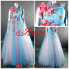 Empire vestido de Noite/vestido de casamento D-642)