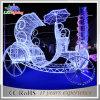 Pferdeschlitten-Motiv-Lichter der im Freiengebrauch-Feiertags-Dekoration-2D LED