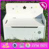Rack de armazenamento de madeira 2015, Armazenamento de caixa de madeira, pequena gaveta de armazenamento de armário de madeira W08C136