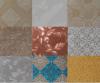 PVC에 의하여 박판으로 만들어지는 석고 천장판 또는 도와