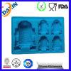 Moldes personalizados do PNF do gelo do silicone, bandeja feita sob encomenda do cubo de gelo do silicone