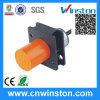 Tipo interruptor do cilindro da resina do ABS Lm34 de proximidade indutivo com CE