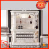 MDF armoires rack du vin Vin en bois Meubles pour l'écran de détail