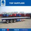 Titan-Fahrzeug - 40FT Behälter-LKW-Flachbettbehälter-Schlussteil-LKW