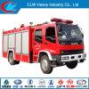 Famosa Marca Isuzu Water Ladder Fire Fighting Truck