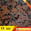 Mattonelle naturali calde della pietra delle mattonelle di pavimento del granito del materiale da costruzione (G007)
