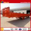 Remorque élevée de bâti de cargaison de cadre avec facultatif détachable ouvert de mur latéral