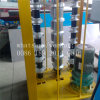 Painel do teto de vidro mosaico automático máquina curvilínea
