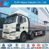 350HP 8X4 25000L Faw 석유 탱크 트럭 연료 탱크 트럭