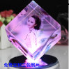 Birthday Gift (KS19845)のための創造的なCrystal Cube Photo Frame