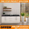 オーストラリアプロジェクトのための小さな白いラッカーキッチンキャビネット(OP14-L05)