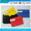 승진 선물에 의하여 주문을 받아서 만들어지는 로고 카드 USB 섬광 드라이브 (EC009)