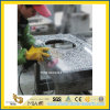 Bathroom Work Top를 위한 Polished Grey 또는 White Granite Vanity Top