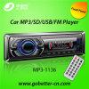 Coche audio MP3 del coche con el precio bajo portuario de radio teledirigido MP3-1136 de Am/FM USB/SD Bluetooth