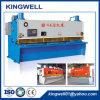 Máquina de corte hidráulica de la guillotina de QC11y