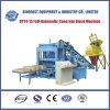 Machine de effectuer de brique automatique de machine à paver du ciment Qty4-15