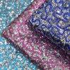 Synthetische Seide gedrucktes Funkeln PUfaux-Leder für Beutel-Schuh