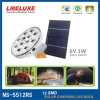 1W 12pzas SMD LED lámpara solar recargable