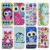 OEM Pattern Beautiful Wallet Case Silicon Printing para celulares para iPhone 6