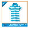 Running Polo T-Shirt оптового Women с Wide Striped Pattern