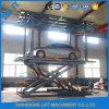 Doubles ciseaux &#160 de véhicule de plate-forme ; Levage