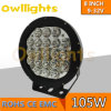 Neues Produkt 2015! Jeep Wrangler Accessories Autoteile weg von Road 8 Inch 105W LED Driving Light für 4X4