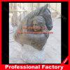 Het Hoofd van het paard met het Marmeren Beeldhouwwerk van Vrouwen voor de Decoratie van het Huis